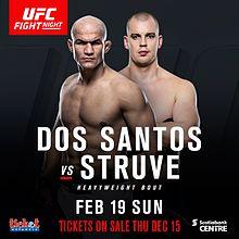 UFC Fight Night: dos Santos vs. Struve 2 1