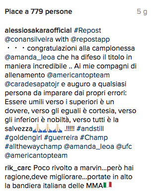 "Marvin Vettori si dichiara ""deluso"" da Alessio Sakara (update) 2"