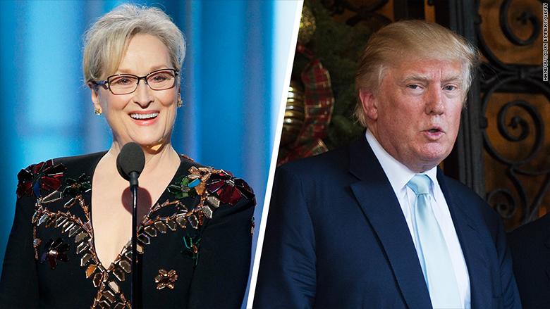 Meryl Streep straparla. Dana la Blasta, Coker la invita. 1