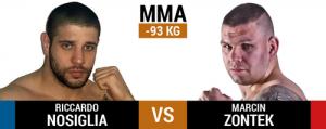 FEN 15: Final Strike. Riccardo Nosiglia è pronto al match contro Marcin Zontek 2