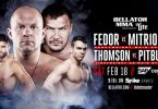 Risultati e highlights Bellator 172: Fedor vs Mitrione (update) 2
