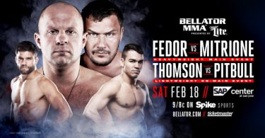 Risultati e highlights Bellator 172: Fedor vs Mitrione (update) 13