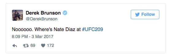 l'UFC 209 perde il main event (update) 3