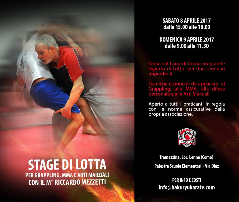 Seminario di Lotta per le MMA / Grappling col Maestro Mezzetti (Lecco) 3