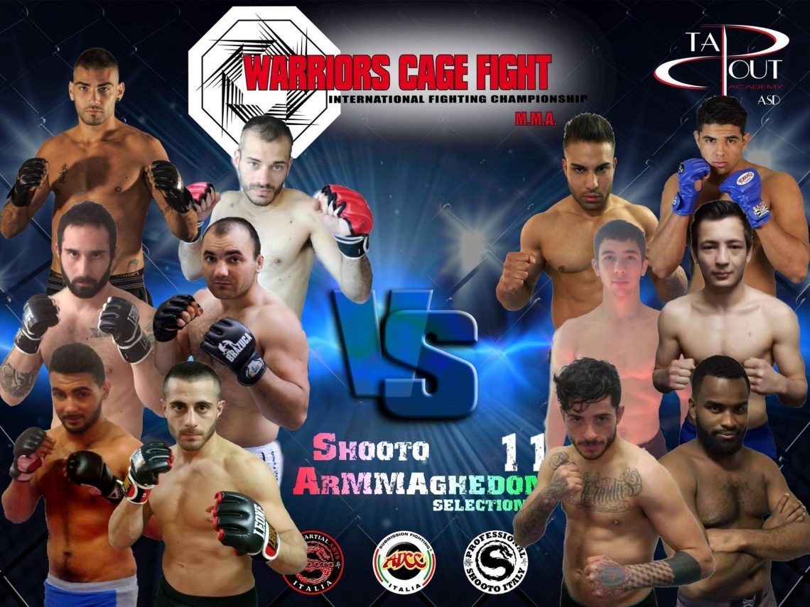 Warrior cage Fight / Shooto Armmaghedon 11 1