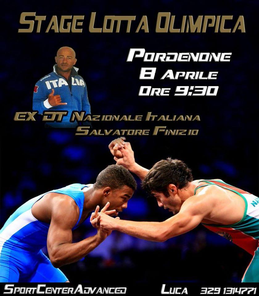 Seminario di lotta olimpia con il Maestro Salvatore Finizio 1
