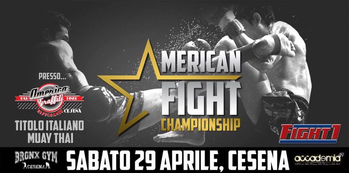 American Fight Championship a Cesena il 29 Aprile! 3