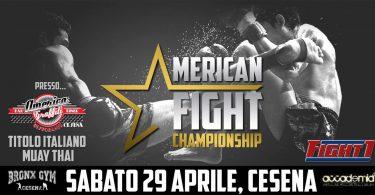 American Fight Championship a Cesena il 29 Aprile! 17