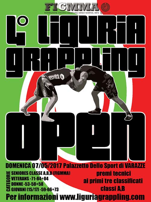 4 Liguria Grappling Open – Torneo NoGi  (FigMMA rules) 1
