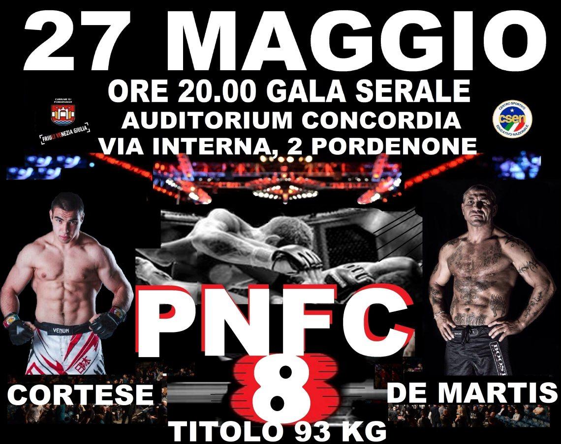 PNFC8: un grande MAIN EVENT per una grande serata 1