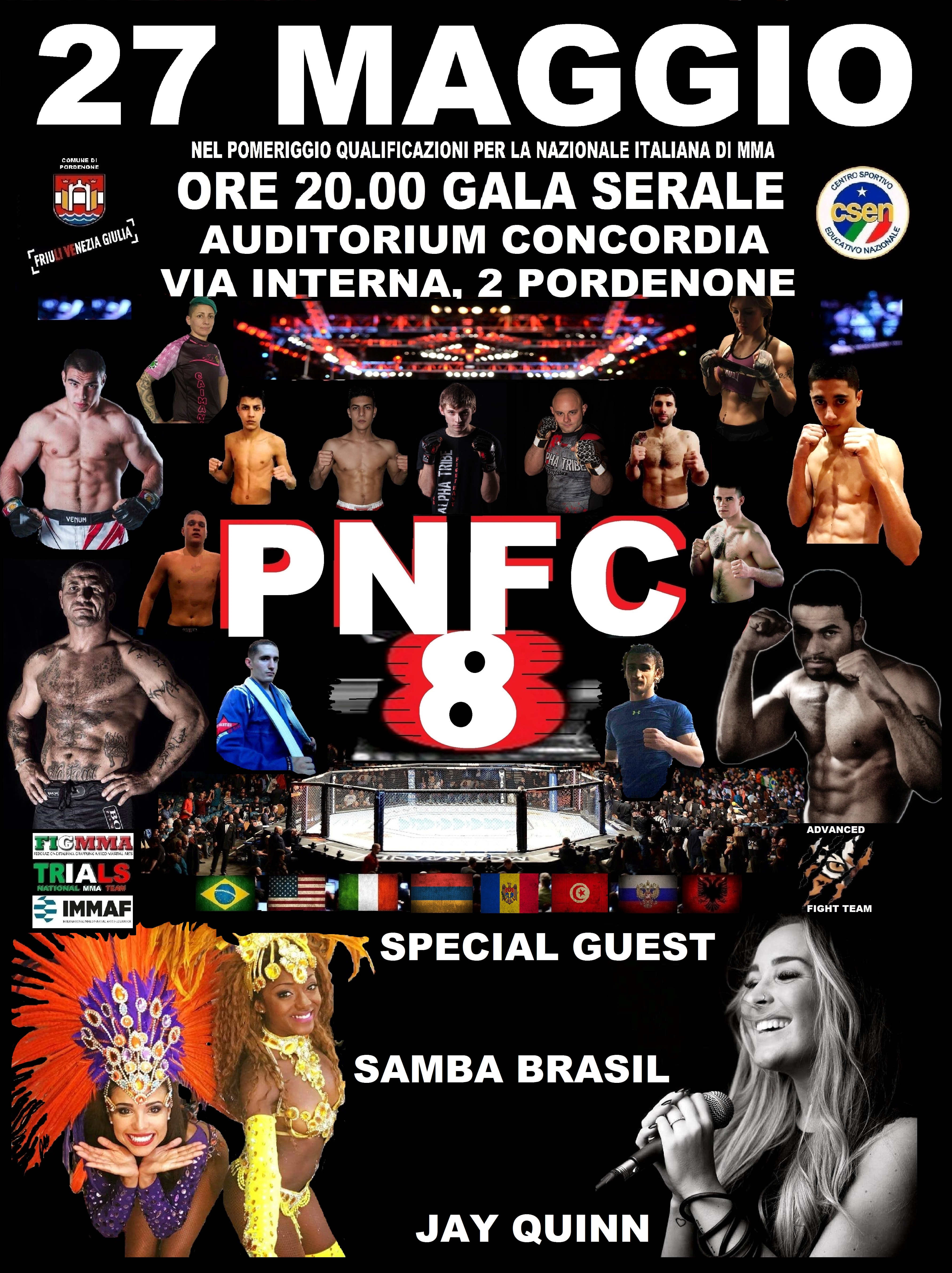 PNFC8: un grande MAIN EVENT per una grande serata 2
