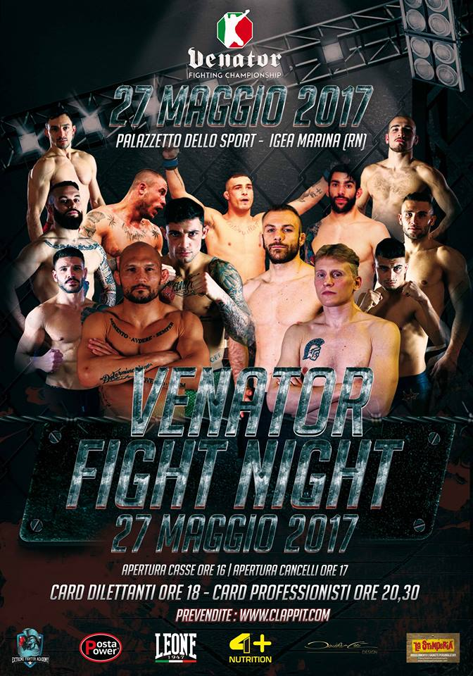 Venator Fight Night (Rimini) Card 1