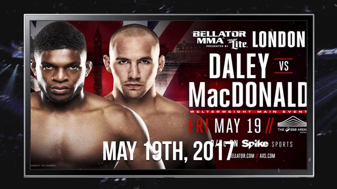 Bellator 179: MacDonald vs Daley 1