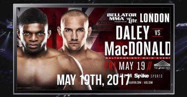 Bellator 179: MacDonald vs Daley 2
