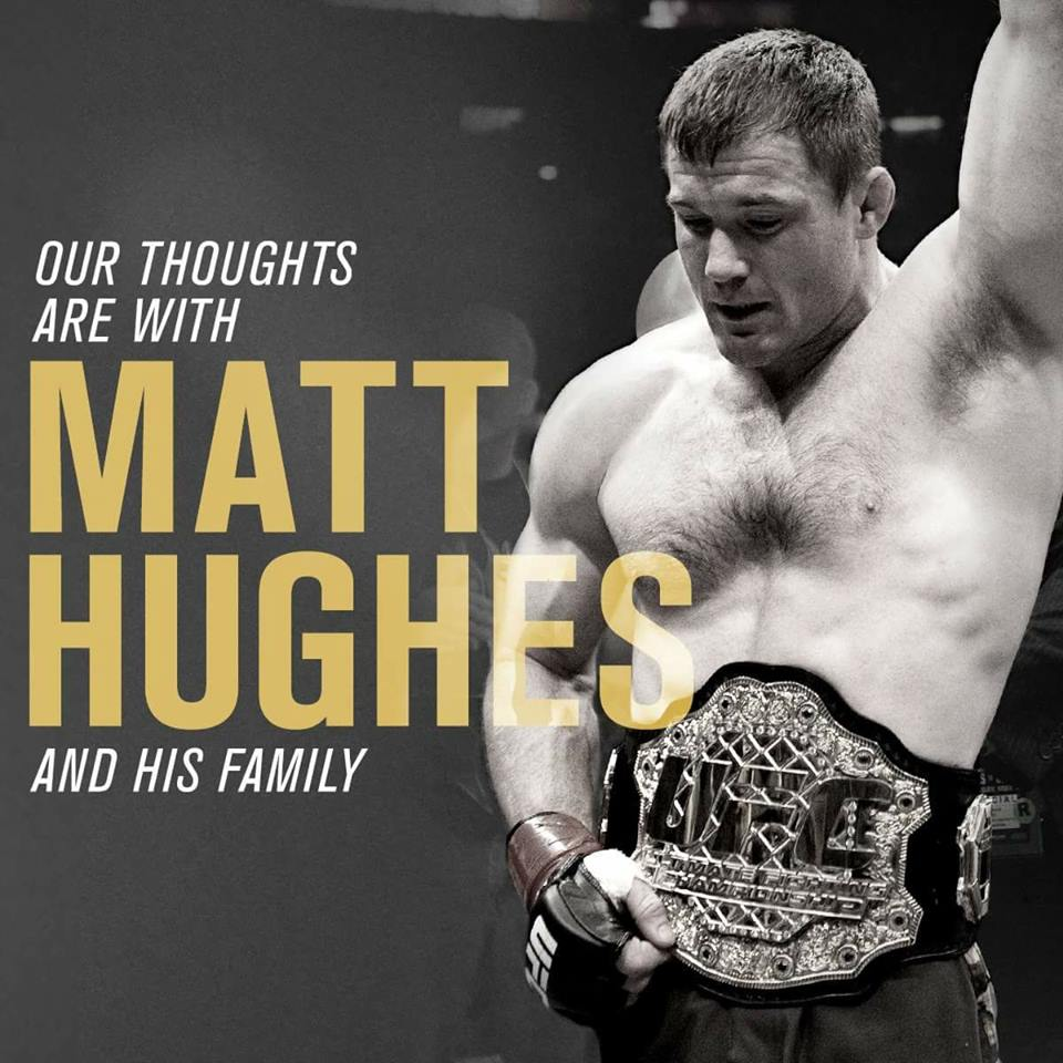Matt Hughes in fin di vita 1