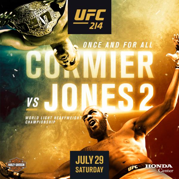 Risultati UFC 214: Cormier vs. Jones 2 1