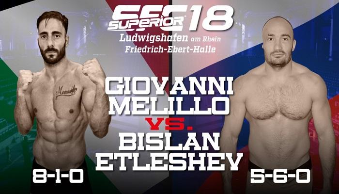 Superior FC 18 - Video del match Giovanni Melillo vs Bislan Etleshev 1