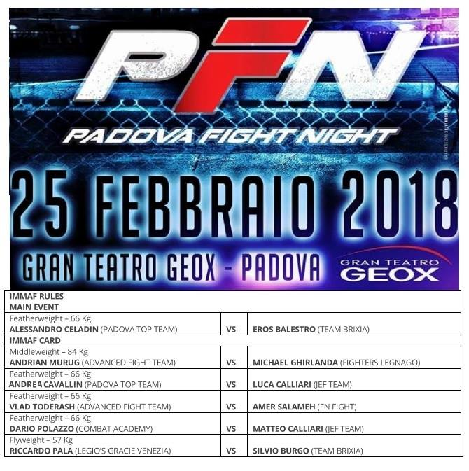 PADOVA FIGHT NIGHT 2