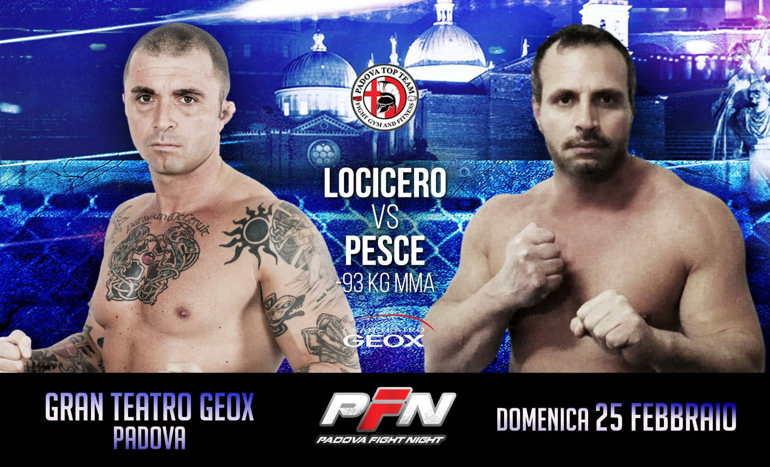 PADOVA FIGHT NIGHT 7