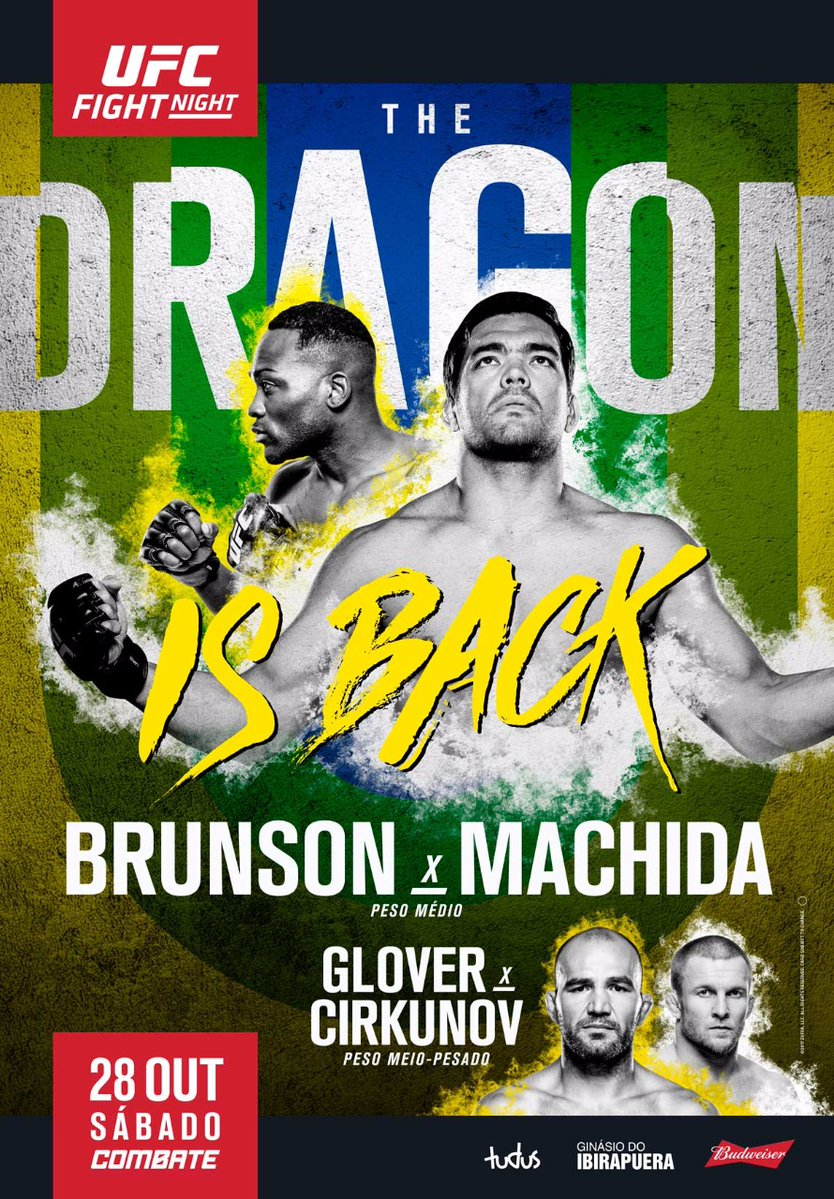 Risultati UFC Fight Night: Brunson vs. Machida 1