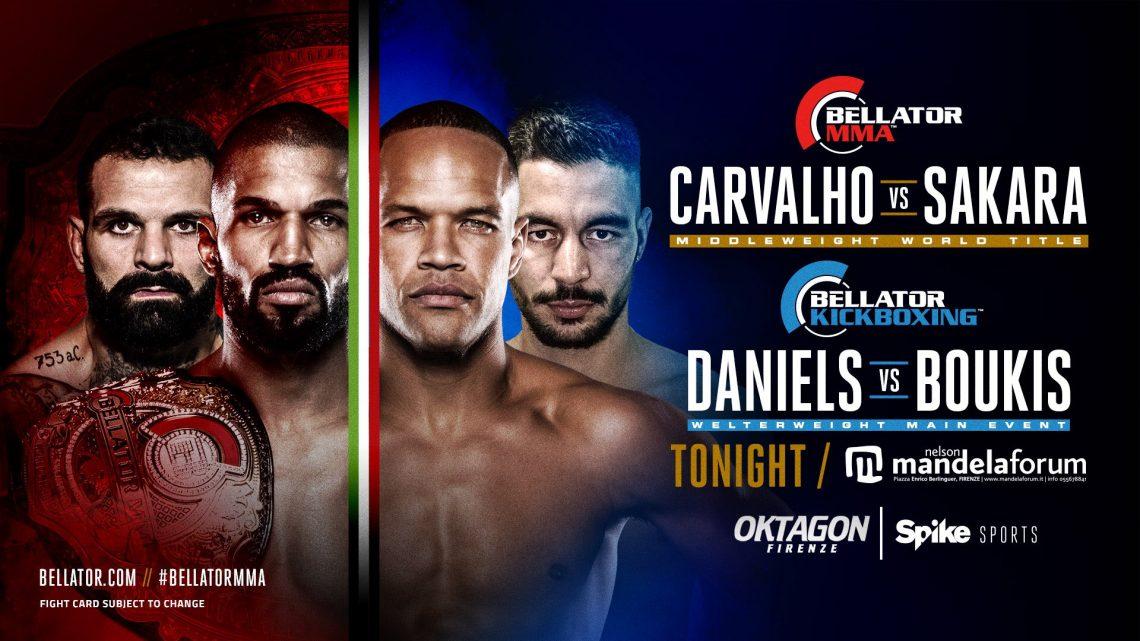 Risultati Oktagon / Bellator Firenze: Cavalho vs Sakara 1