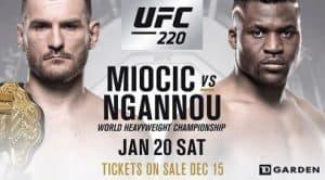 UFC 220: Miocic vs. Ngannou 2