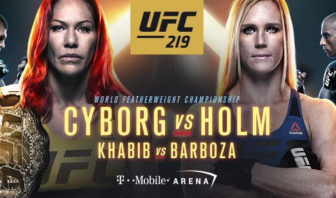 RISULTATI UFC219 3