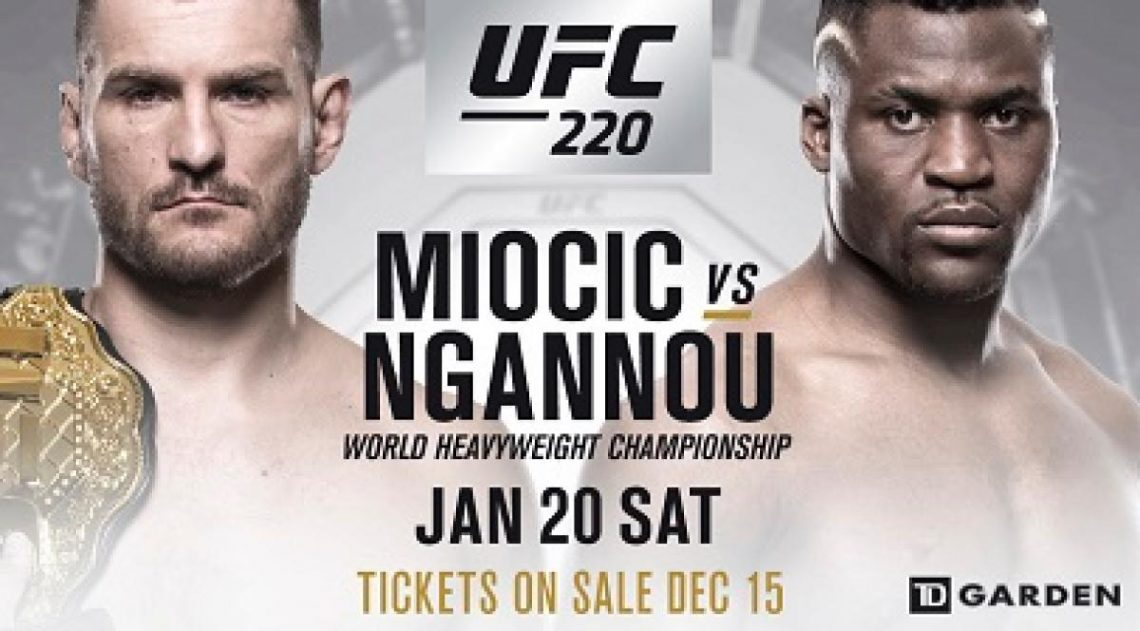 Risultati UFC 220: Miocic vs. Ngannou 1
