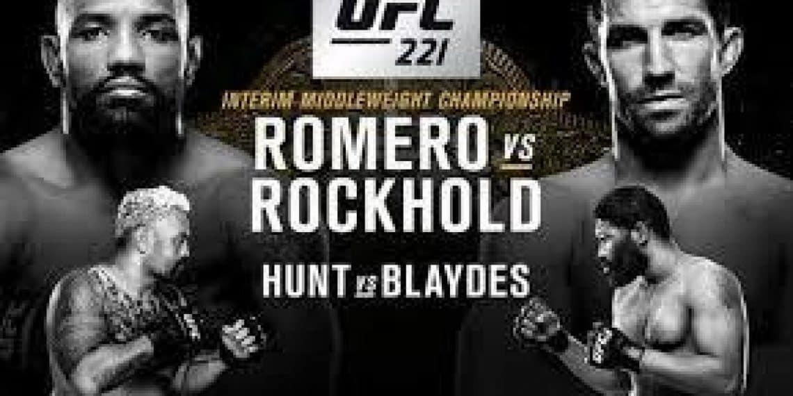 UFC 221: Romero vs. Rockhold 1