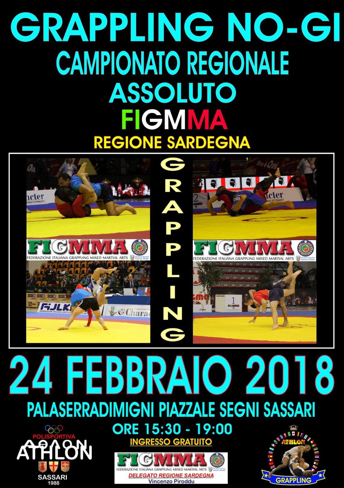 Grappling No gi - Campionato regionale Assoluto Sardegna (FigMMA) 1