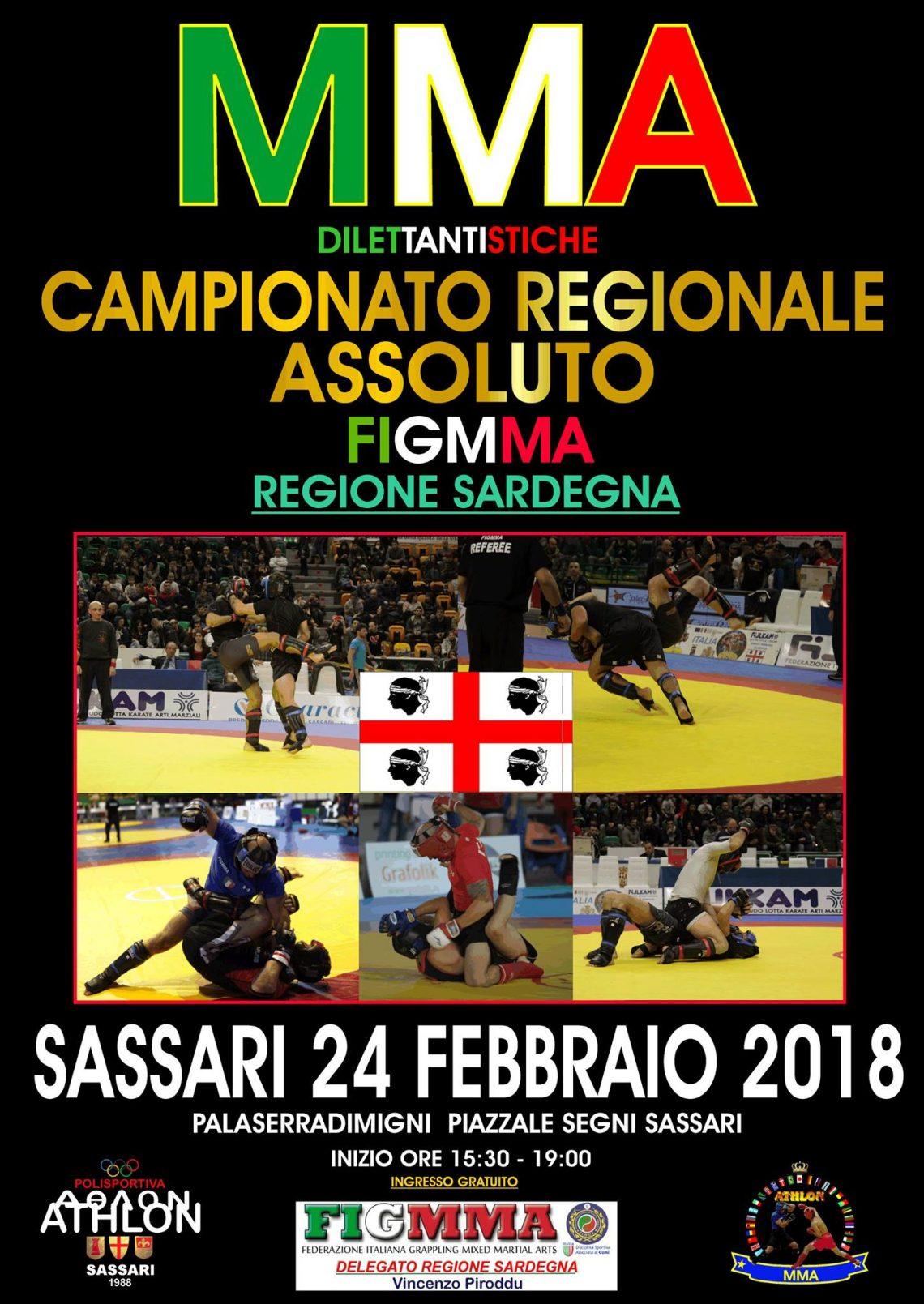 MMA dilettantistiche - Campionato regionale Assoluto Sardegna (FigMMA) 1