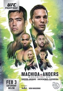 UFC Fight Night 125 : Machida vs. Anders 1