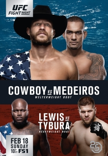 UFC Fight Night 126: Cowboy vs. Medeiros 1