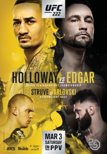 UFC 222: Holloway vs. Edgar 1