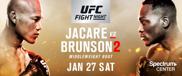 Risultati UFC on FOX 27:Jacaré vs. Brunson 2  ( Mara Romero Borella vs Katlyn Chookagian ) 1