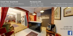 """Good Time Residence"" sponsor del nostro soggiorno a Lodz. 5"