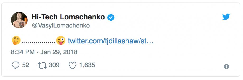 Lomachenko vs Dillashaw: ci stanno trollando oppure... 12