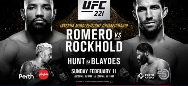 Risultati UFC 221: Romero vs. Rockhold 1