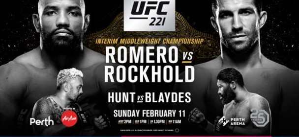 UFC 221 - Rockhold vs Romero 1