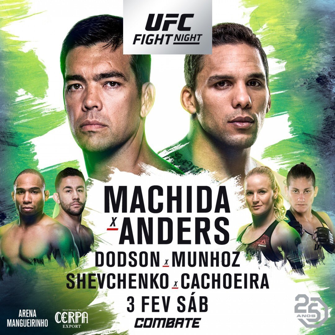 Risultati UFC Fight Night: Machida vs. Anders 1