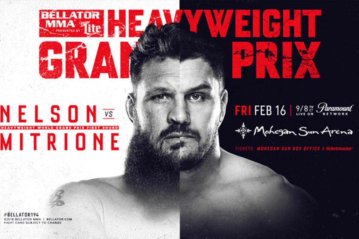 Risultati Bellator 194: Mitrione vs Nelson 2 2