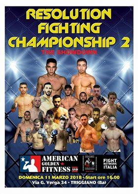 Resolution FIghting Championship 2 (Bari) 1