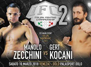 IFC 2 Sabato 10 Marzo a Dolo (Venezia): Penini vs Aliu per la Cintura Pesi Medi. 3