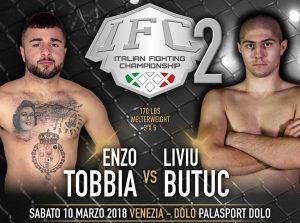 IFC 2 Sabato 10 Marzo a Dolo (Venezia): Penini vs Aliu per la Cintura Pesi Medi. 6