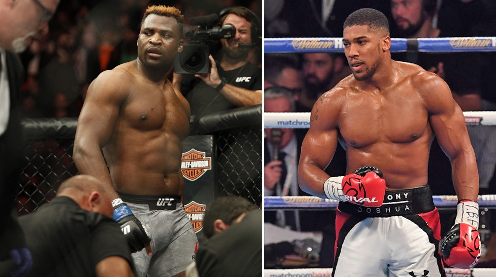 ANTHONY JOSHUA vuole NGANNOU E JONES IN MMA 2