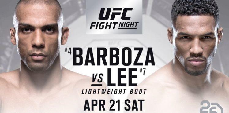 UFC FIGHT NIGHT - BARBOZA vs LEE 1
