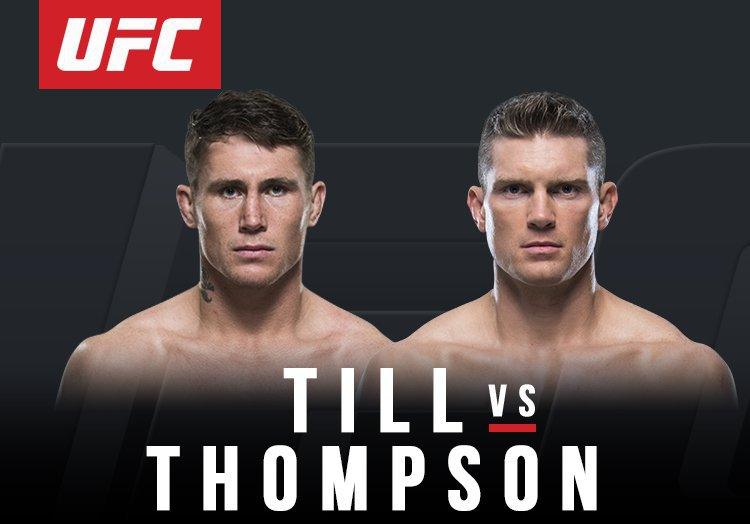 UFC FIGHT NIGHT 130 - TILL VS THOMPSON 1