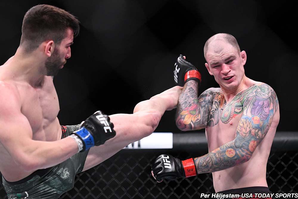 RISULTATI UFC FIGHT NIGHT LIVERPOOL - TILL VS THOMPSON + CARLO PEDERSOLI 2