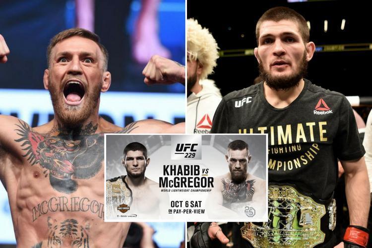 KHABIB VS CONOR A UFC 229 1