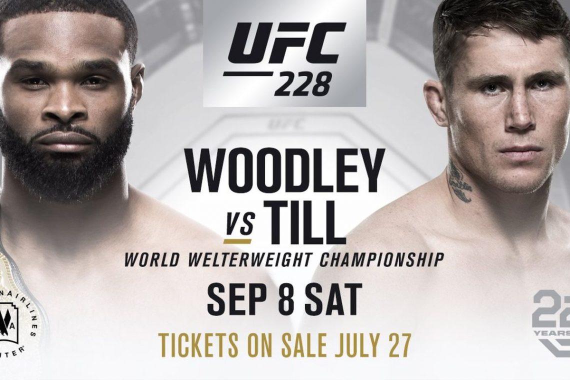 RISULTATI UFC 228 WOODLEY VS TILL 1